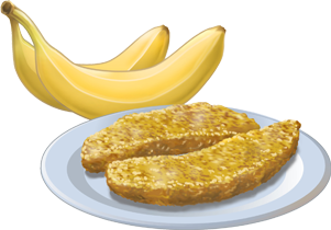 Sweet Fried Bananas